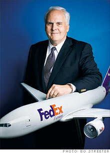 Fred Smith, who founded FedEx so that he could continue to play with model airplanes from childhood to retirement