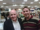 Kevin Kane with Jack Welch
